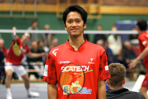 Ary Trisnanto TSV Trittau Badminton 1. Bundesliga