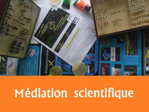 relevé scientifique technique mediation scientifique