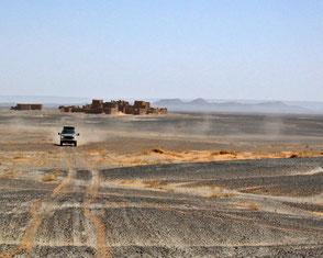 Piste entlang des Erg Chebbi, Marokko