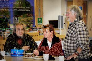 Bill Oddie OBE Visiting Idle Valley - 2013