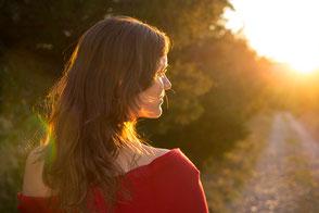 Frau auf Weg, Einzelbegleitung