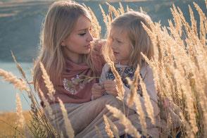 Gespräch Mutter und Kind, Hochsensibilität