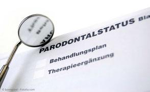 Parodontal-Status für die Krankenkasse