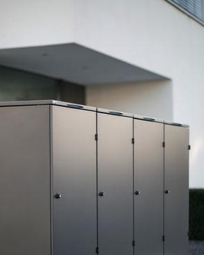 Mülltonnenbox Farbe DB 703