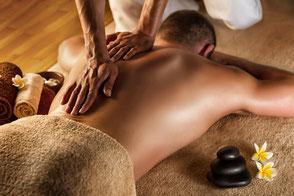 Deep Tissue Massage Beispiel