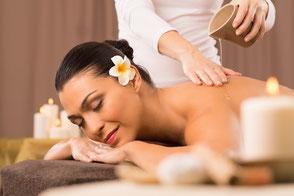 Thai Aroma-Öl Massage Beispiel