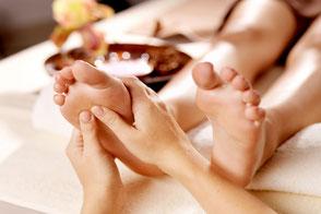 Fuss Massage Beispiel