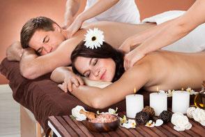 Paar Massagen Beispiel