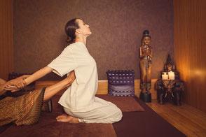 Thai Massage Beispiel