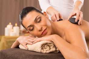 Hot Stone Massage Beispiel