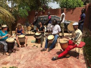 Abou Konté - Tanz- und Trommelferien Senegal
