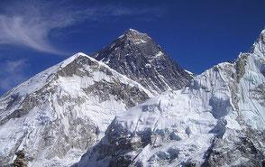 Mit Everest Zielen hoch hinaus