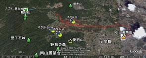 2008年6月9日 ホタル地図