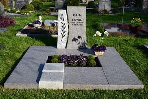 Grabmal Doppelgrab Abdeckplatte