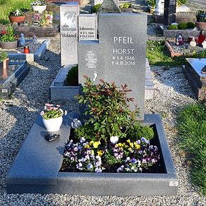 Urnengrab Spruch Abdeckplatte
