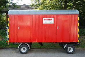 WC Wagen Vermietung - Reusser Transporte AG Biberist