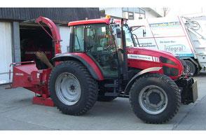 Baumfräse und Häcksler - Reusser Transporte AG Biberist