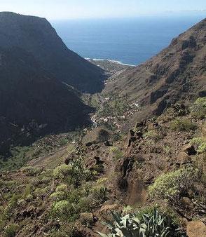 Valle Gran Rey auf La Gomera