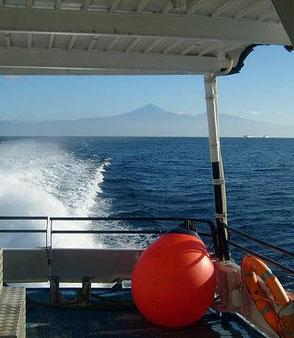 Anreise-Schnellfähre nach La Gomera