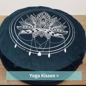 bequem sitzen auf Yogakissen von buntspatz