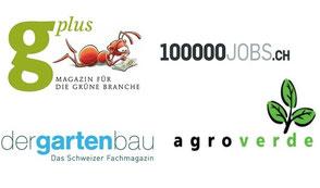 gplus, 100000jobs.ch, dergartenbau,agroverde