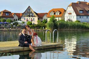 Brigitte & Bernd . Portrait und Reportage im Seehotel Niedernberg