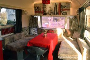 Gîte Airstream, location caravane pour 2 à 4 personnes