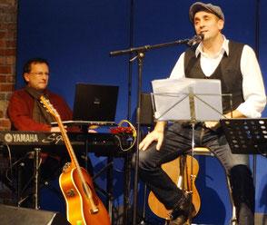 Werner Kandzora und Stefan Angele