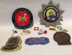 Pins, Plaketten, Abzeichen, Badge,