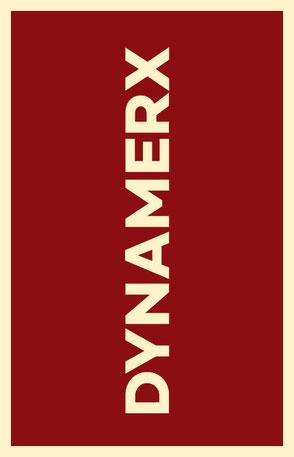 Neuer Name Dynamerx mit neuer Typografie