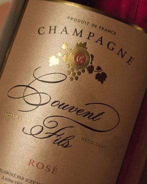 Cuvée signature du champagne Couvent Fils