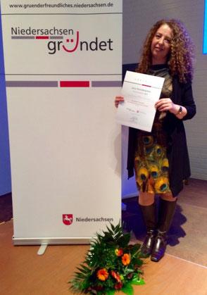 Reha Fashion Auszeichnung niedersächsiesches Ministerium DurchSTARTer2015