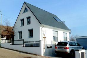 Energetische Sanierung Einfamilienhaus