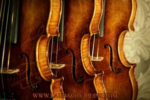 Laubach workshop fine violins  model 888 V antique