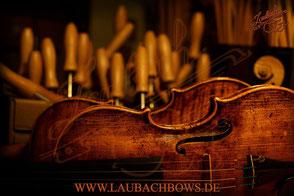 Laubach 🎻 fine master violin 168V antique