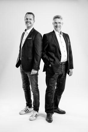 Geschäftsführer Olaf Lüdke und Thomas Schäfer