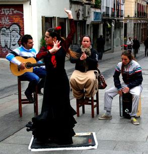 Granada, Straßenflamenco