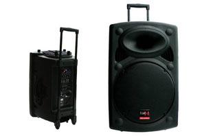 Mobile Soundanlage mit Mikrofon und Akku mieten Musikanlage Box Firmenevent Eventservice Minnert Oberursel Bad Homburg Eschborn Kronberg Königstein