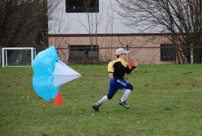 Fussballparcours mieten Eventmodule Verleih Frankfurt Kindergeburtstags feiern Hessen Idee