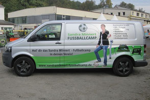 Über uns mobile Fussballschule Sandra Minnert Sportevents Fussballevents Eventmodule Fußballschule