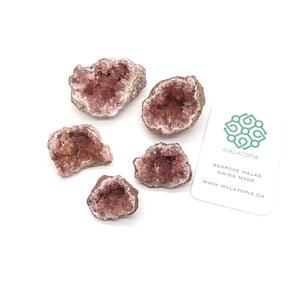 Pink Amethyst Geodes
