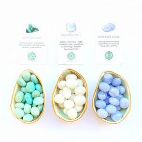 Semi-precious Crystal Beads