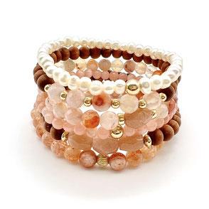Sacred Heart Bracelet Stack