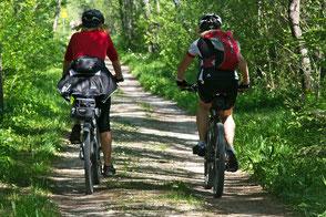 Radfahren durch die Natur der Schwäbischen Alb, Ferienwohnung Haus im Gässle, Ödenwaldstetten, Hohenstein