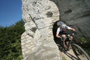 Mountainbike, Schwäbische Alb, radeln, Albtraufkante, Streuobstwiesen, rafdahren, Ödenwladstetten, Hohenstein, Ferienwohnung Haus im Gässle