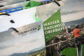 Radleitprodukt Radfernwege WasserRadlWege Oberbayern