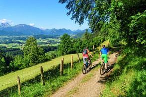 Leitproduktentwicklung Mountainbike Allgäu/ Tirol