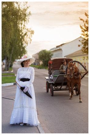 location et confection costumes historique Belle Epoque Soulac 1900
