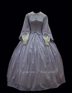 location robe de jour 1860 Fort Rainbow