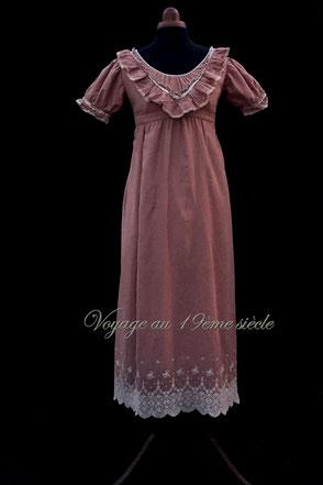 Location costumes historiques Bordeaux robe de bal premier empire regency